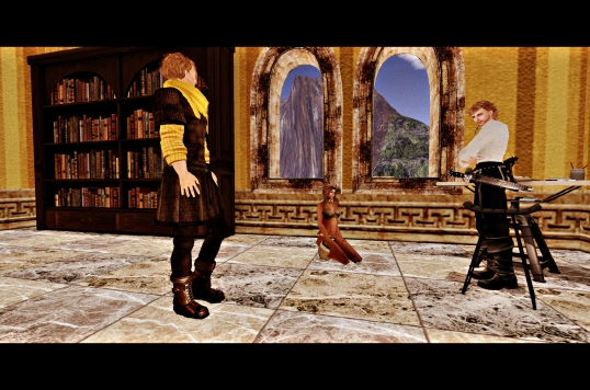 Zander Meets the High Builder of Kaelus